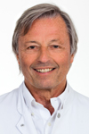 Picture of the Martini-Klinik Chief Physician Prof. Dr. Huland.