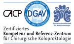 DGAV-Certification for the general surgery at the University Medical Center Hamburg-Eppendorf.